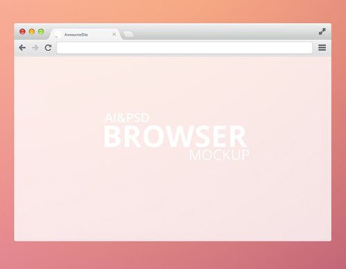 Modern-Browser-PSD-MockUp