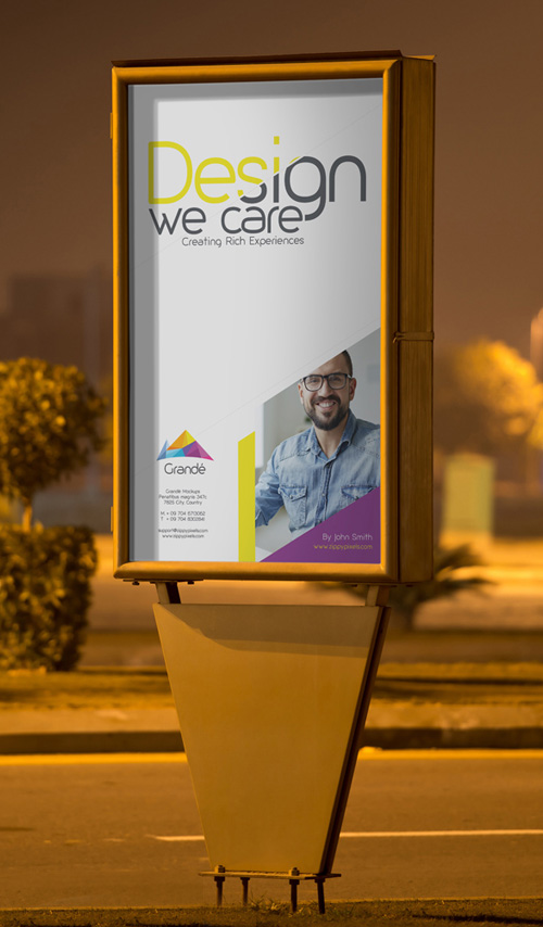 Outdoor-Roadside-Poster-PSD-Mockup