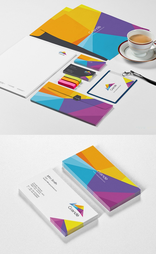 Photorealistic-Stationery-Branding-PSD-Mockups