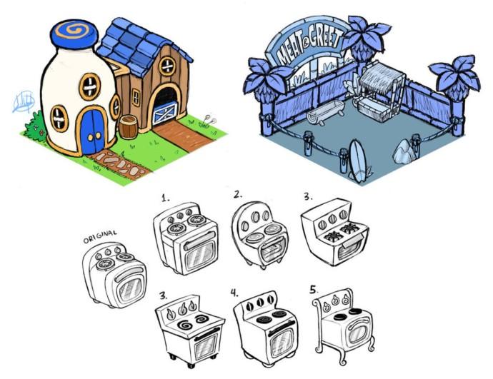 ゲームのコンセプトアート