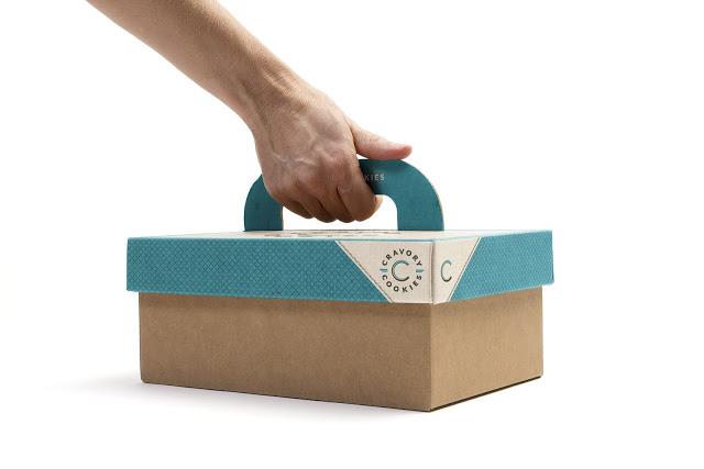 カワイイクッキーのパッケージデザイン2