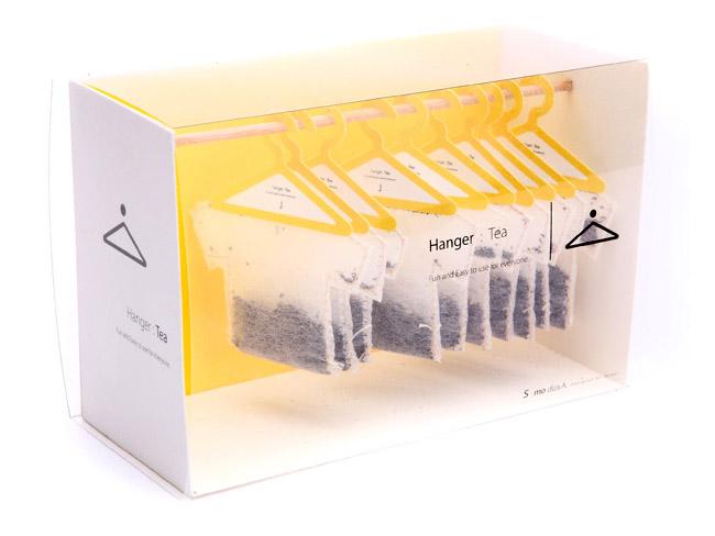 ティーバッグのパッケージデザイン