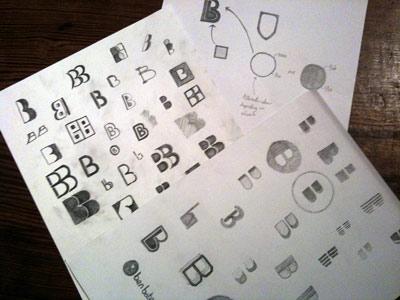 ロゴマークラフスケッチ