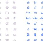 ECサイト構築で参考になるアイコン40 png|ai|pdf
