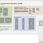 バナー広告 国際標準サイズ ベクター素材