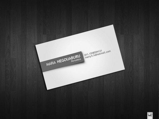 Glass Artist Business Card