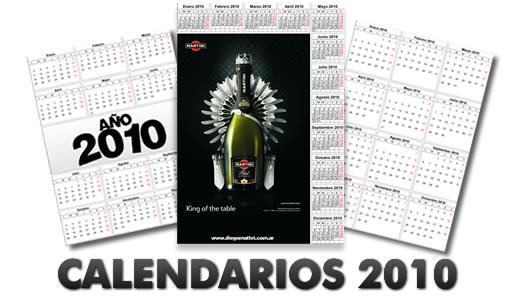 2010年カレンダー素材