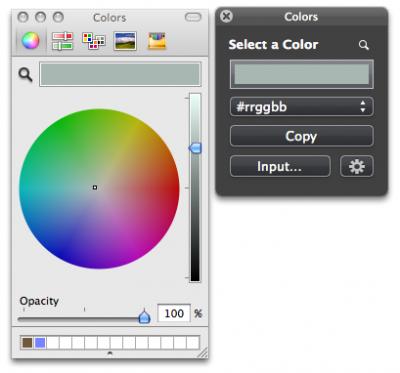 colorsキャプチャ画面