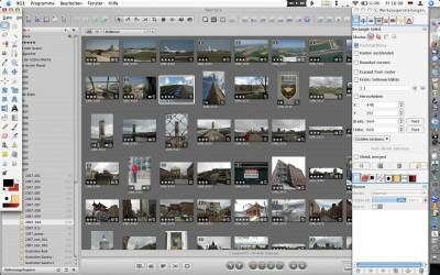 GIMPキャプチャ画面