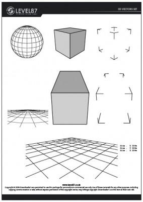 3Dベクターデータ