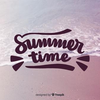 波打ち際 夏のイメージ