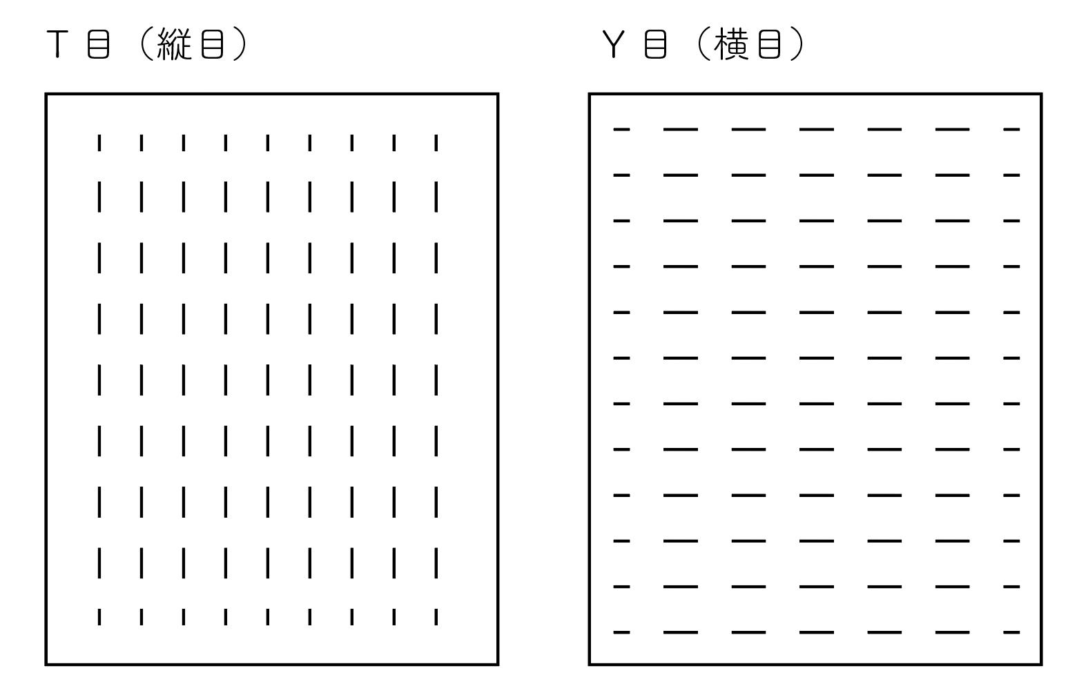 モノストックデザインの基本