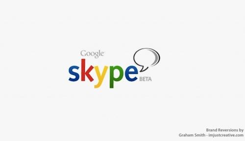異なる企業のロゴマーク