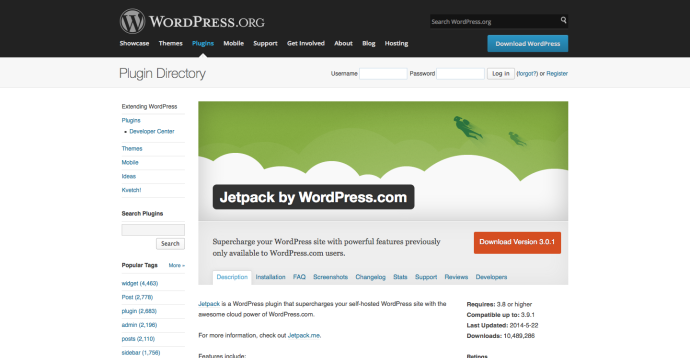 WordPress › Jetpack by WordPress.com « WordPress Plugins