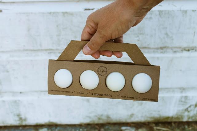 卵のパッケージデザイン