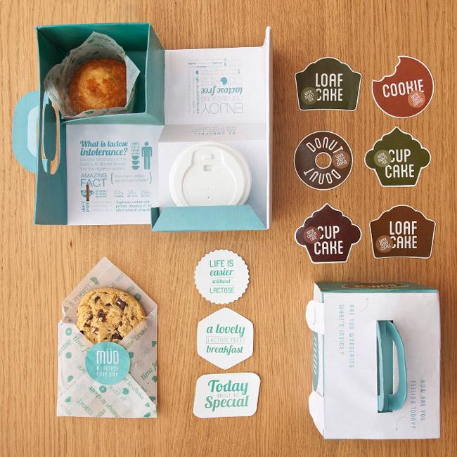 カワイイクッキーのパッケージデザイン