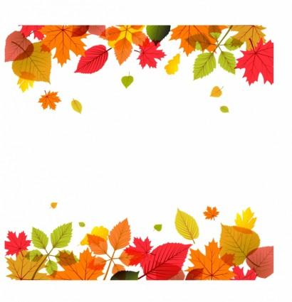 秋のイメージベクターデータ2