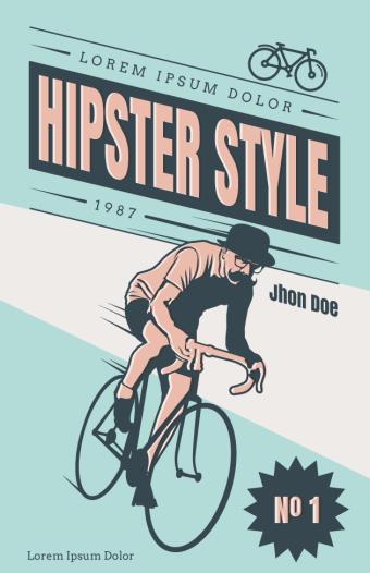 海外のレトロなポスターデザインサンプル1