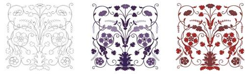 花のベクター素材