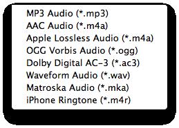 音声を変換できる無料コンバーター