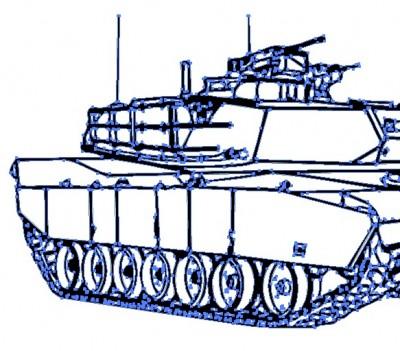 戦車のベクターデータ