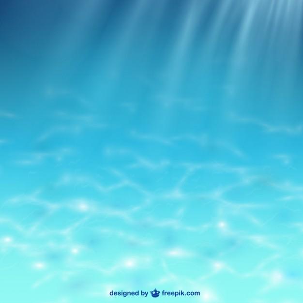 海底に降り注ぐ太陽光イメージ