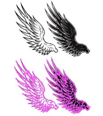 羽のベクター素材